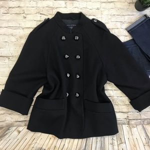 FRENCH CONNECTION Women's Navy Blue Jacket SZ 10